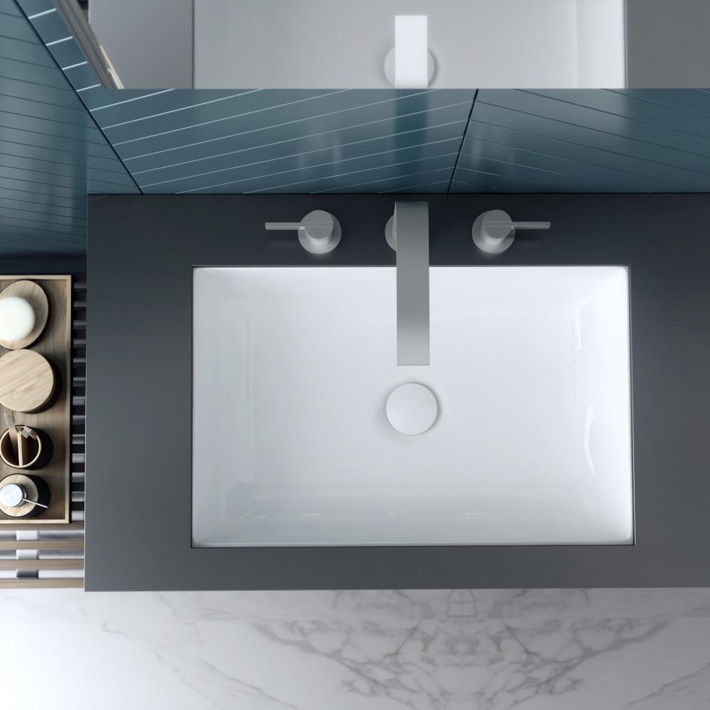 Rectangle Bathroom Basins