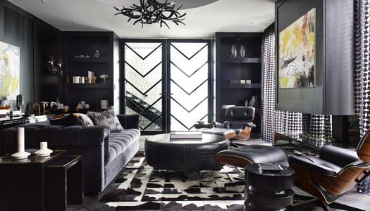 Contemporary Luxury in Black & White