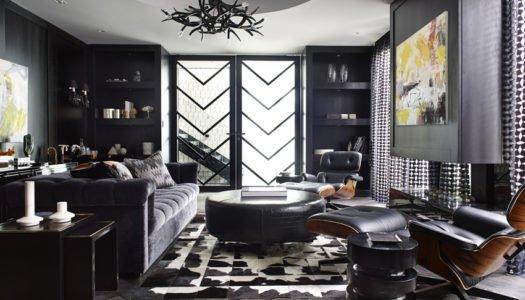 Contemporary Luxury in Black & White