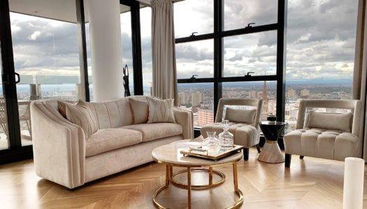 Custom-Made Furniture & City Views