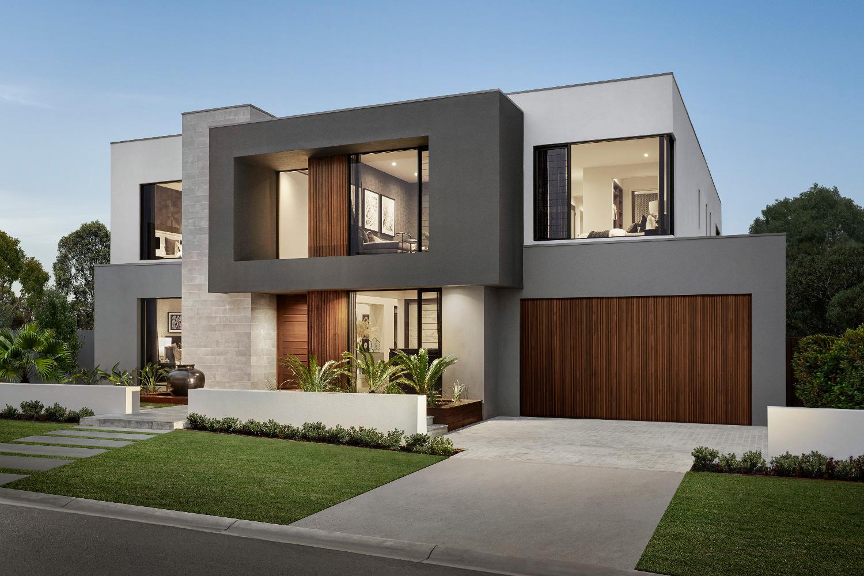 Contemporary Home-Facade-2