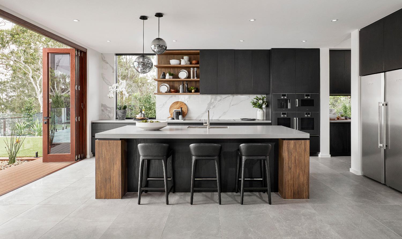 Contemporary Home-Kitchen