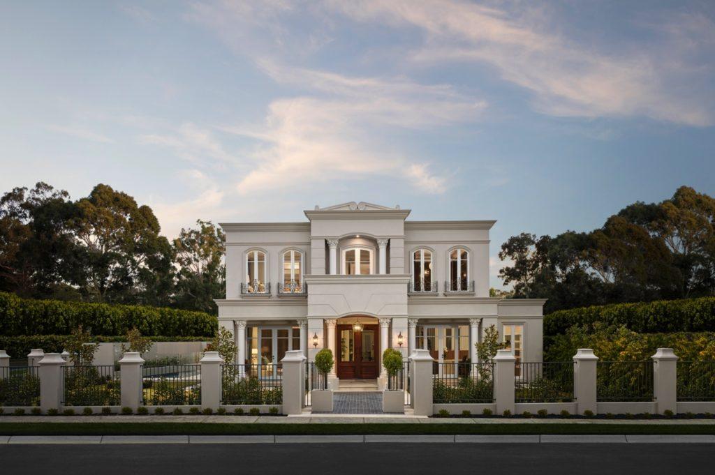 French Provincial Home Design
