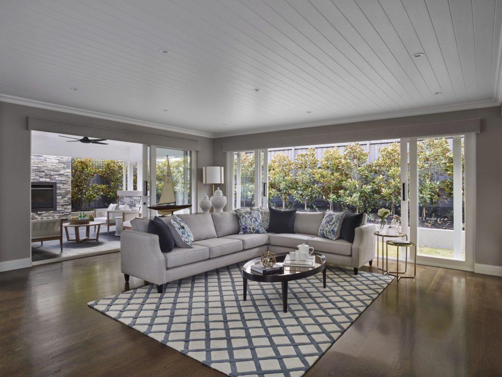 Hamptons Lounge Design