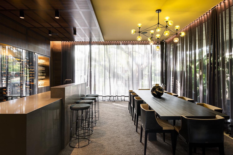 Soundproof Bar Luxury Custom Home Brisbane