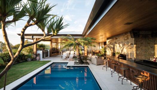 Mid Century Meets Resort Style