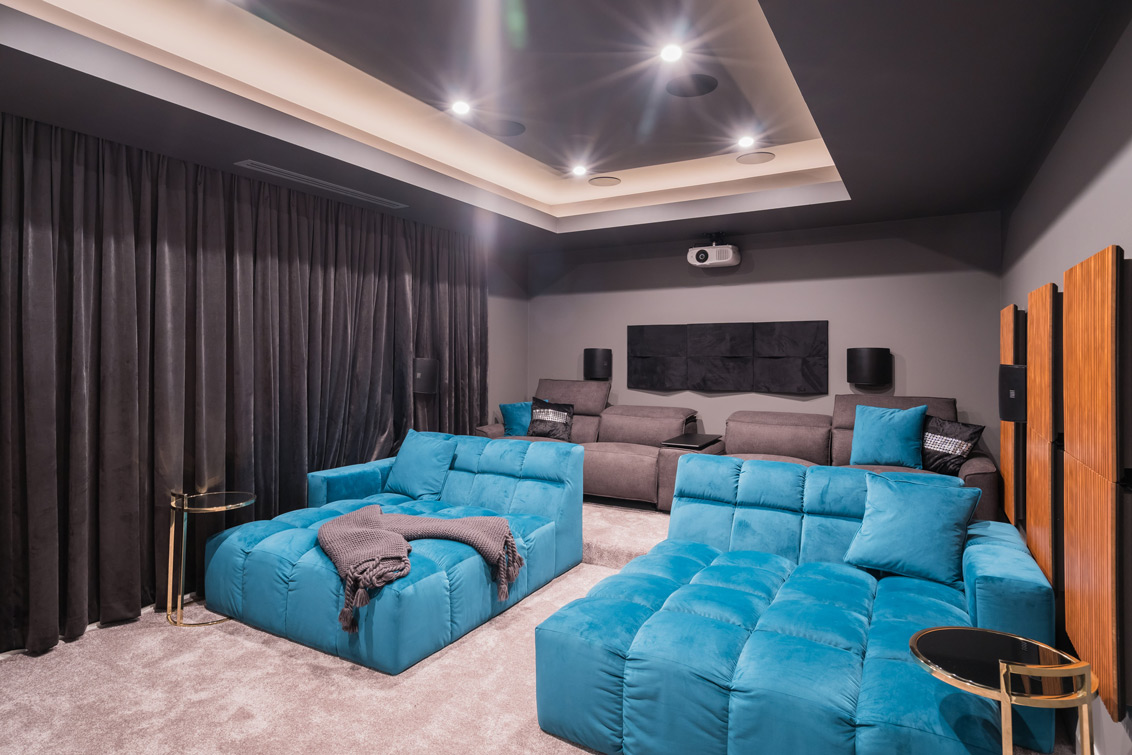 Custom Builders Dalkeith Theatre Room