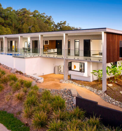 Custom homes Gold Coast facade from the outside