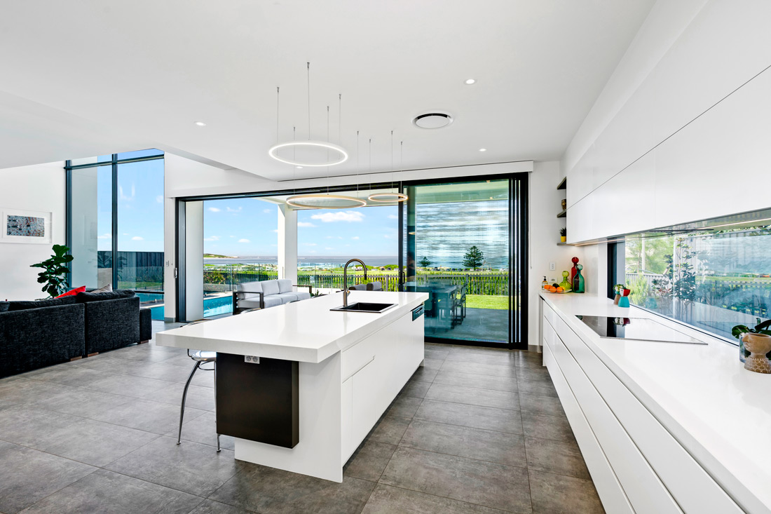 Greenhills spacious kitchen with big windows