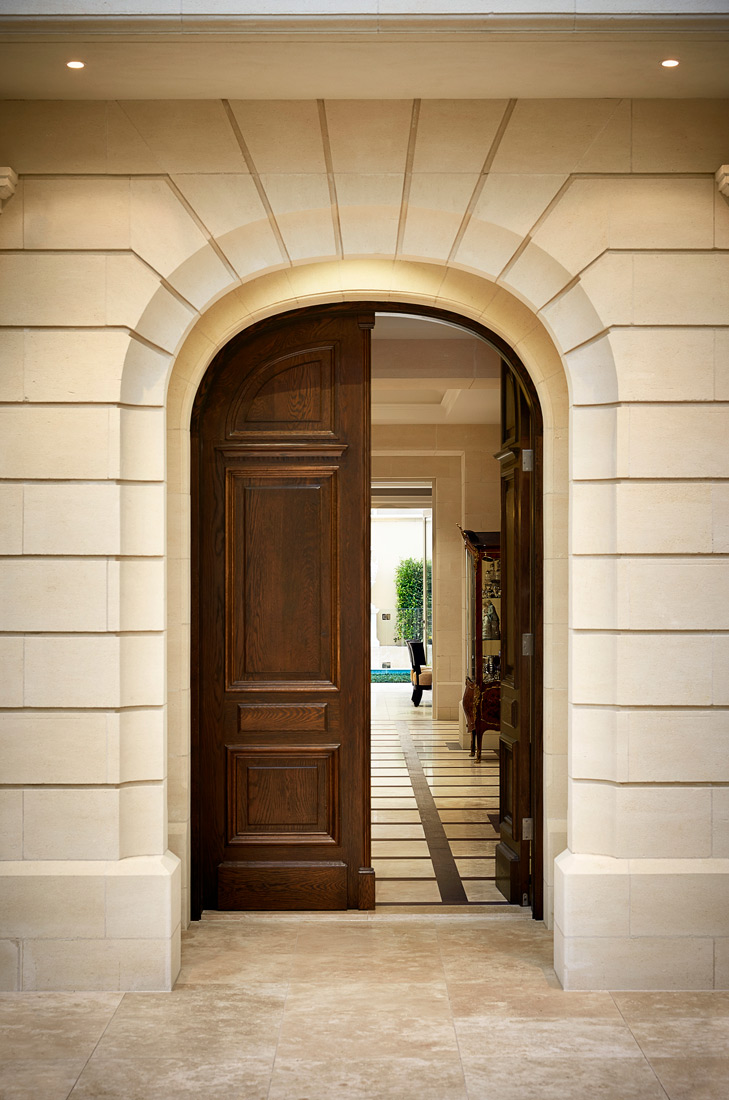 Entrance Door from a Limestone home