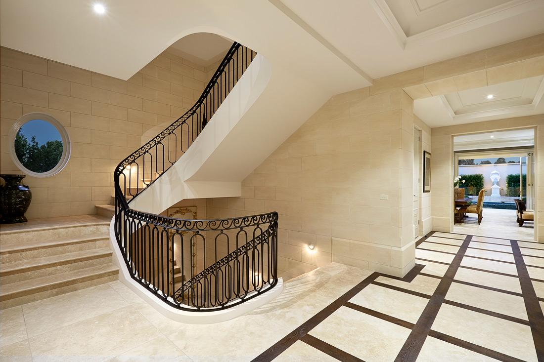 Limestone Homes stairs