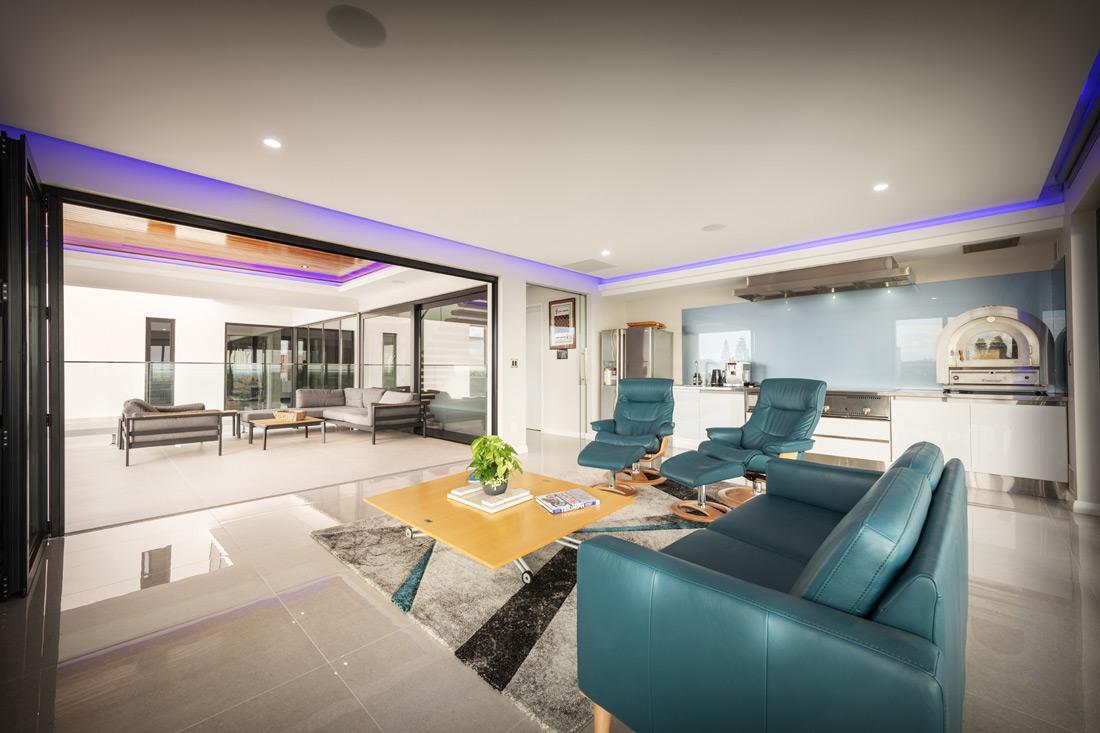 Custom Builders Perth living room