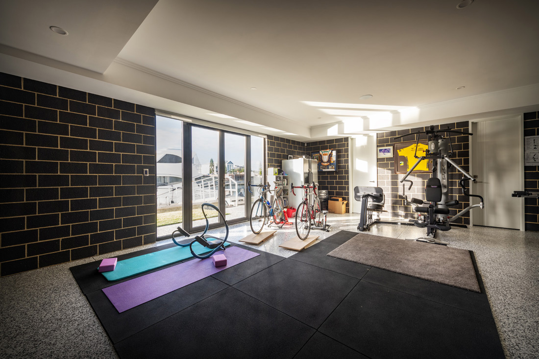 Custom Builders Perth Home Gym