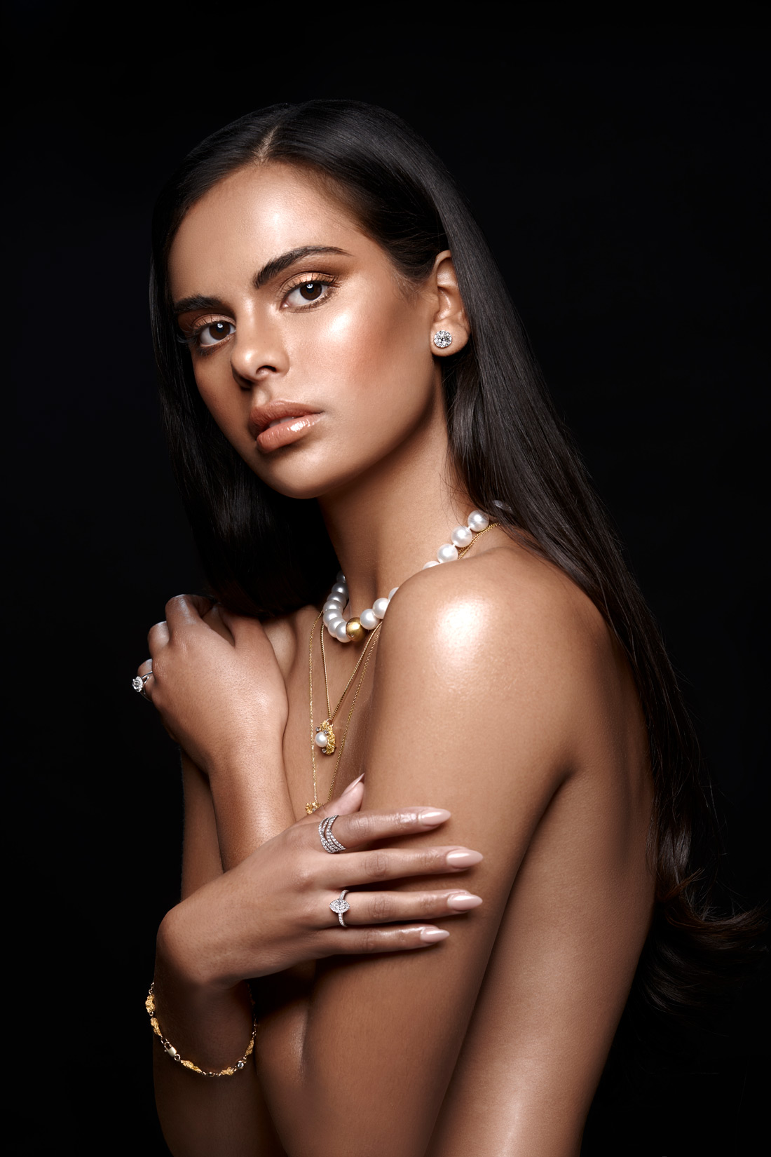 Smales Jewellers model new collection