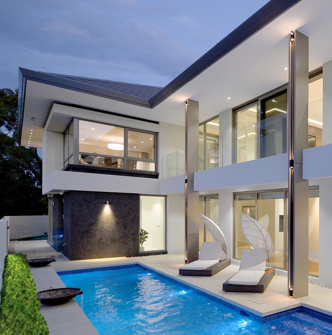 South Perth Custom Home pool