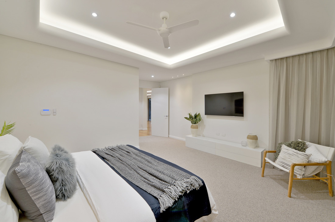 South Perth Custom Home bedroom