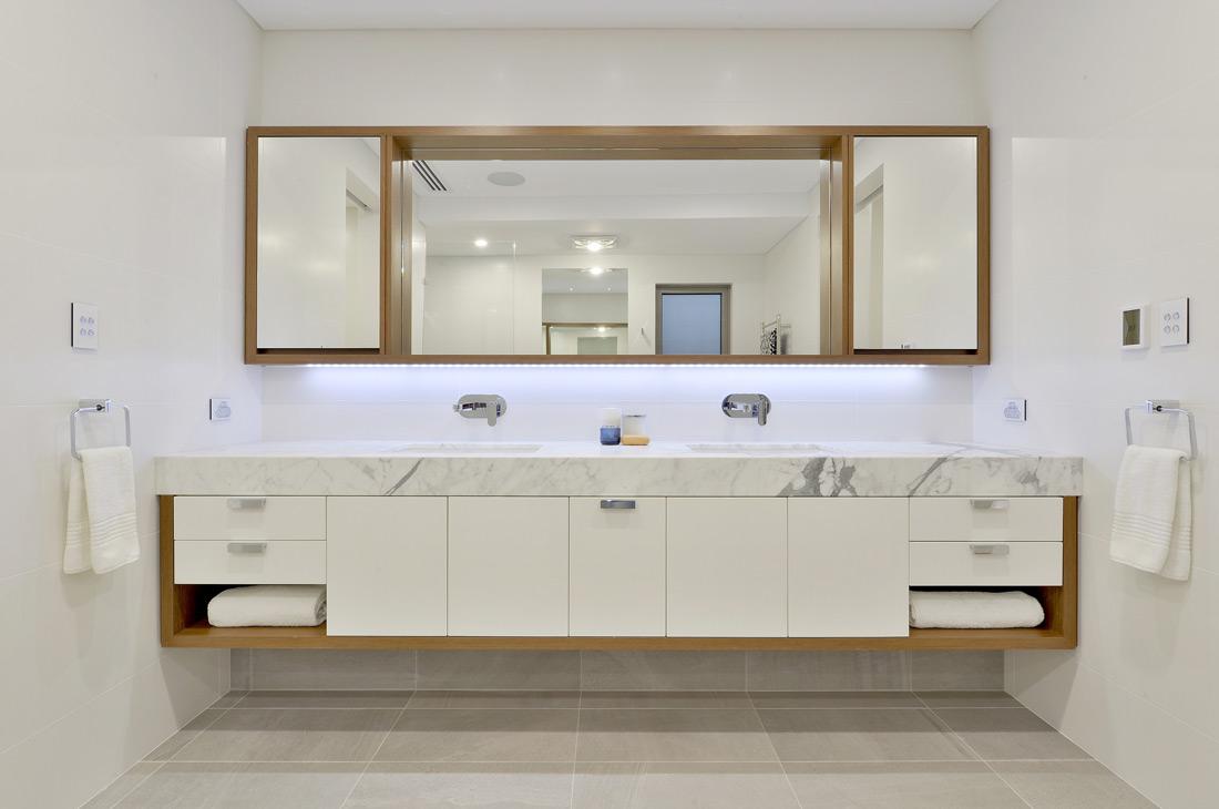 South Perth Custom Home bathroom vanity