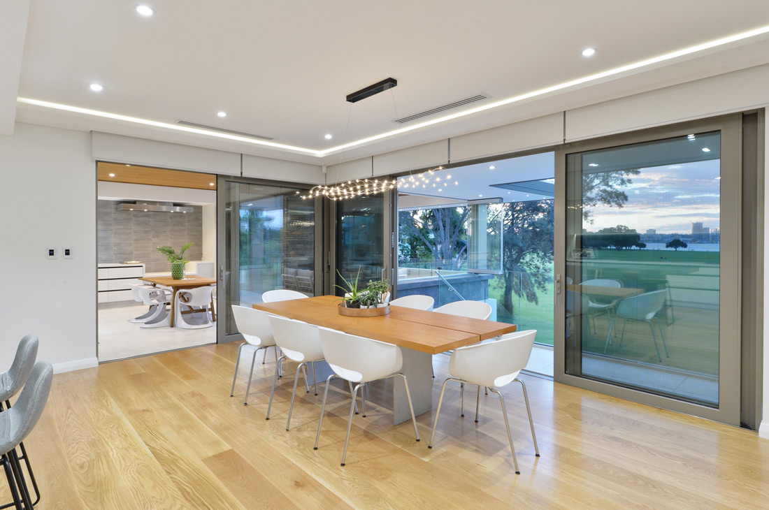 South Perth dinning room