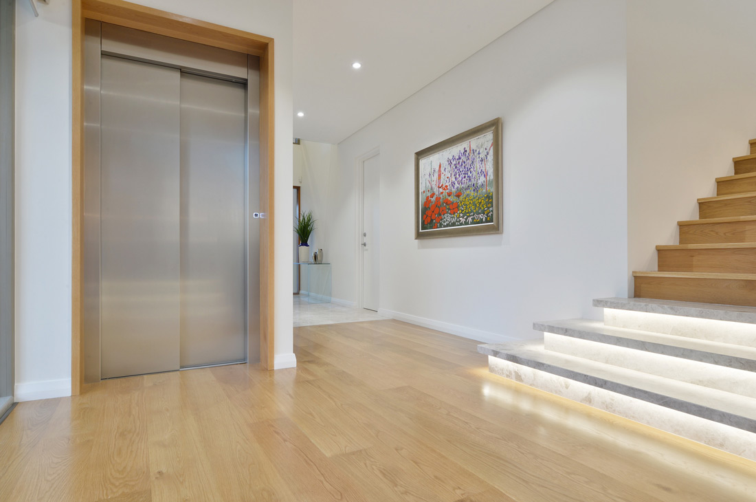 South Perth Custom Homes stairs and elevator