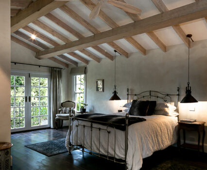 Tuscan Style Homes bedroom