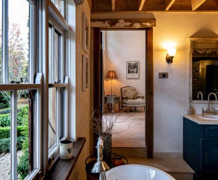 Tuscan Style Homes bathroom and room