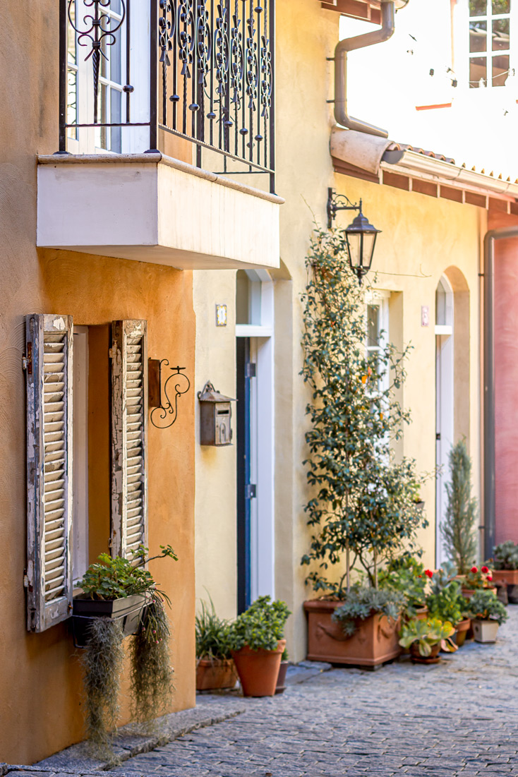 Tuscan Style Homes street