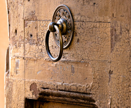 Tuscan-Style-Homes Old door