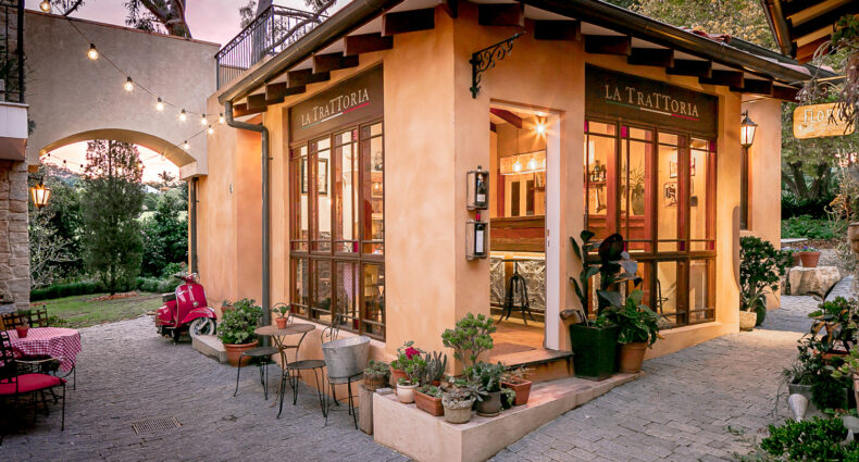 Tuscan Style Homes Trattoria