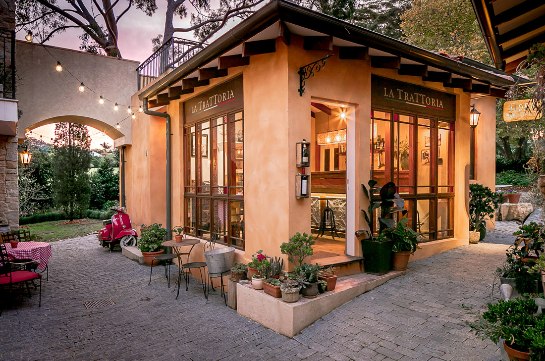 Tuscan Style Homes trattoria outside