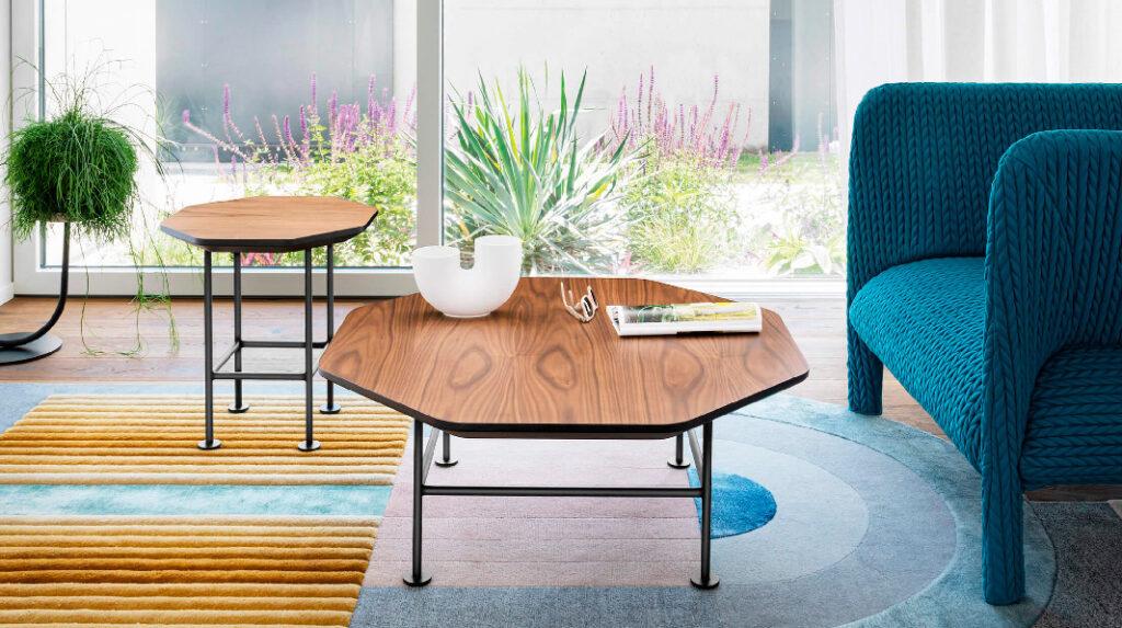 geometric tables from Miniforms furniture