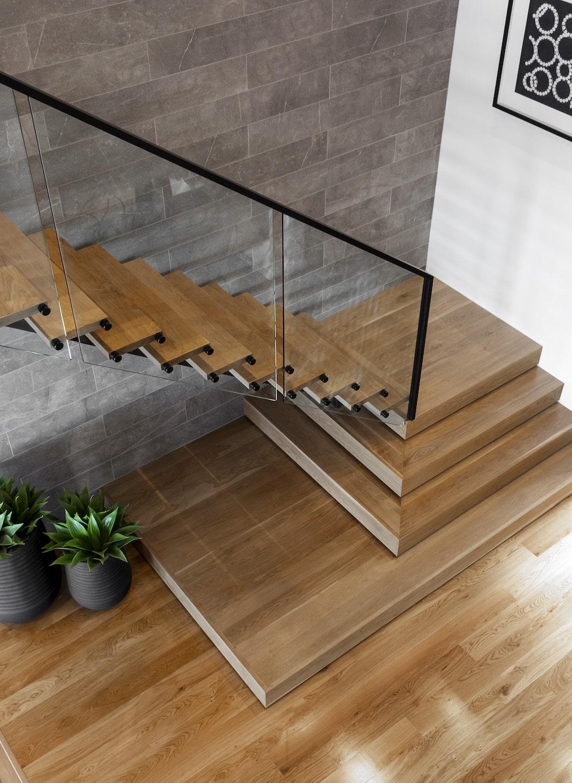 Contemporary Home - Staircase