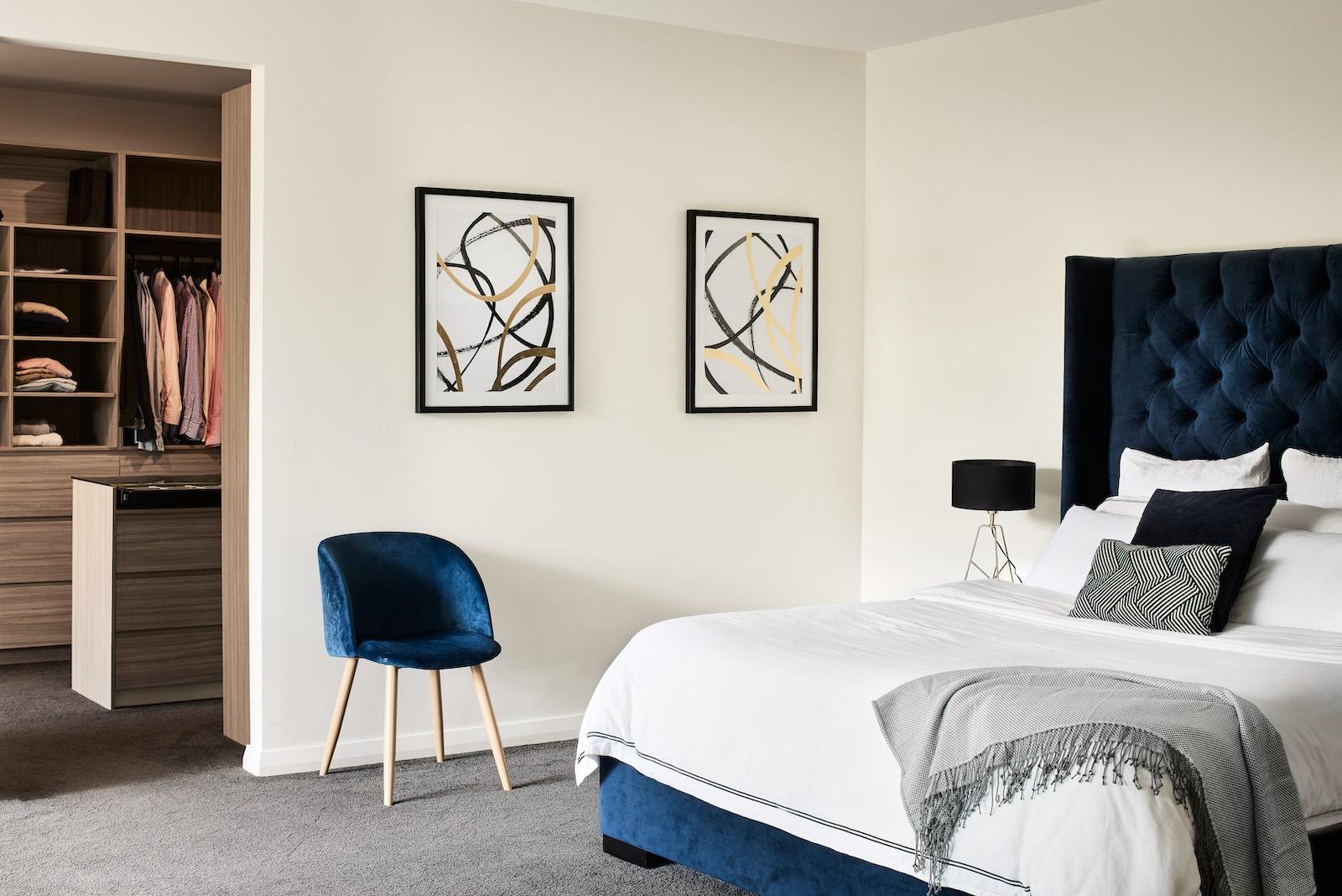 Custom Home Design Sydney bed