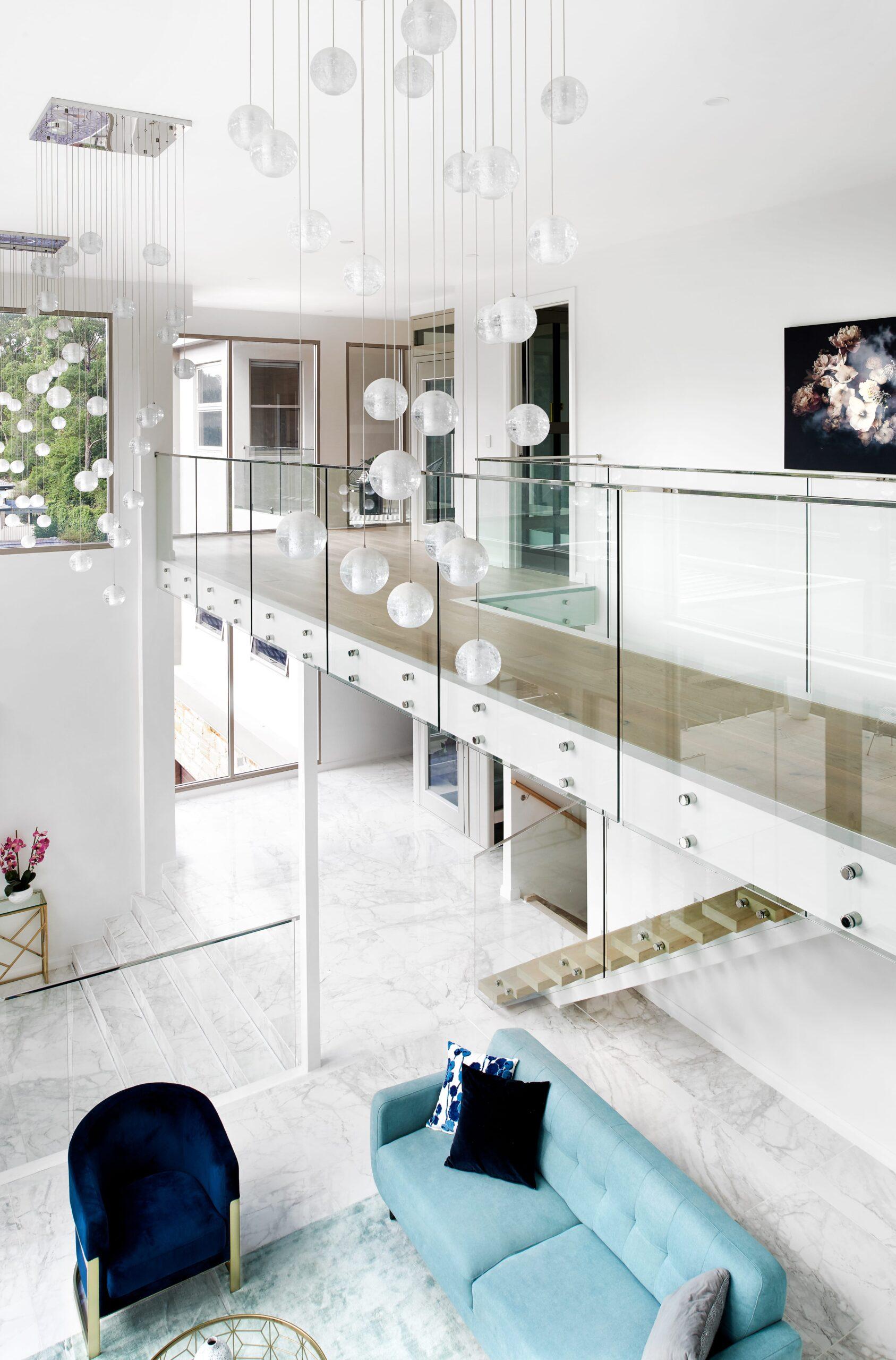 Custom Home Design Sydney lights