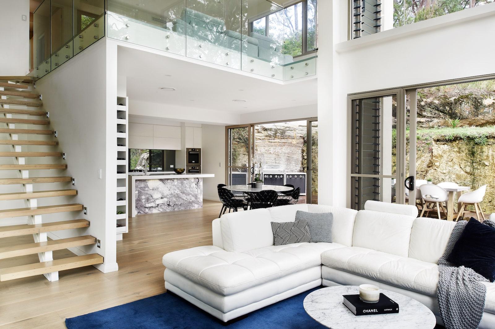 Custom Home Design Sydney stairs