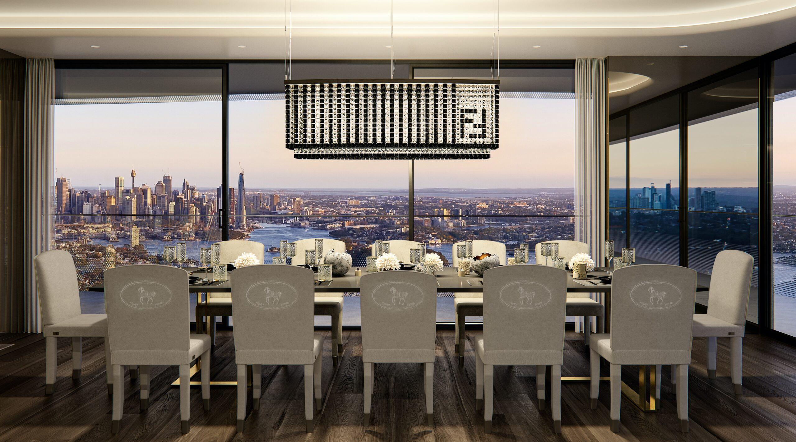 luxury branded penthouse sydney