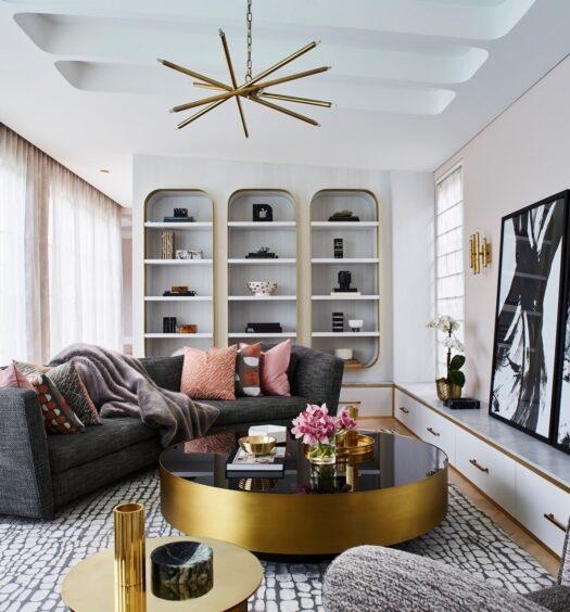 Greg Natale French Art Deco living room