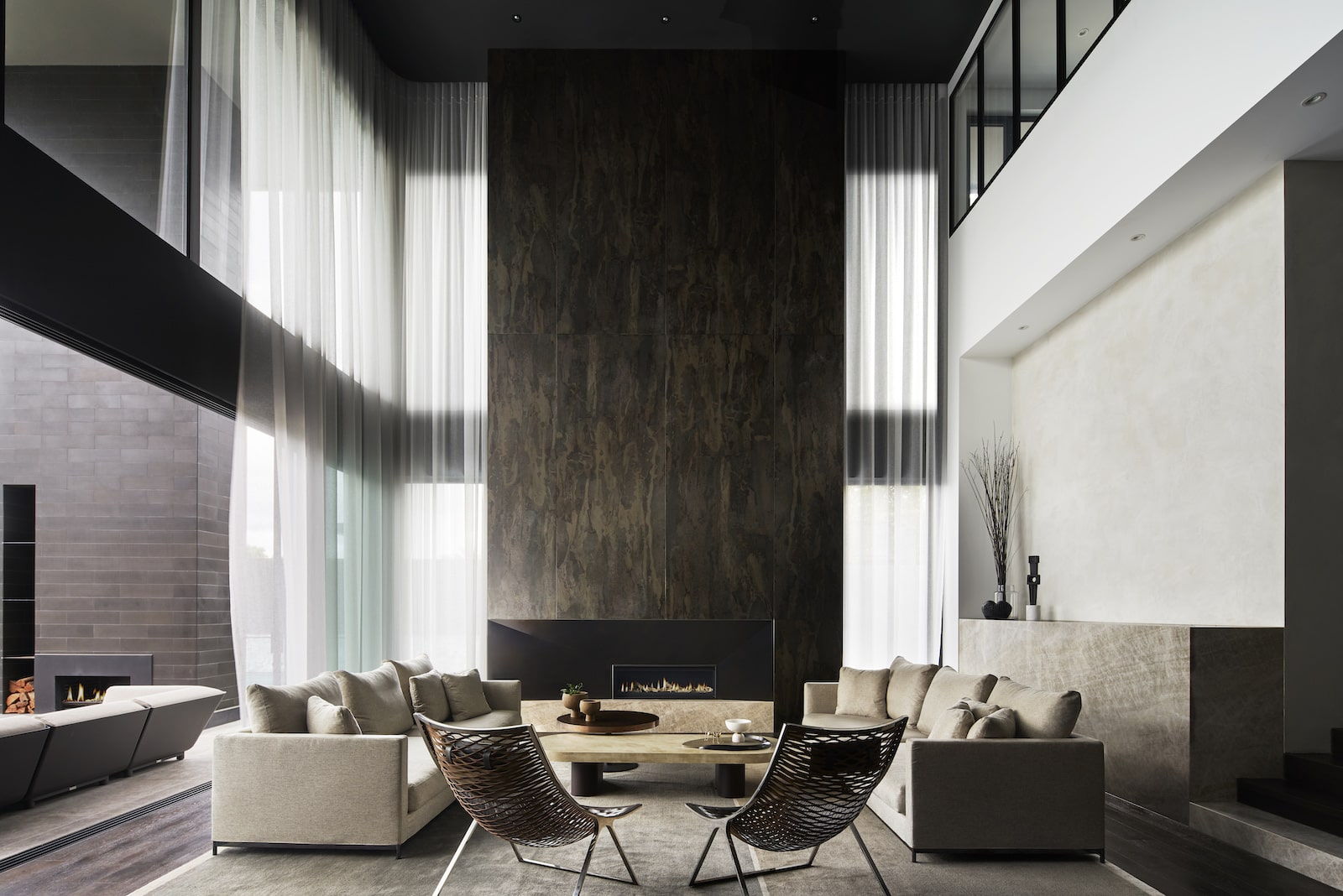 Interior Design Melbourne chimney