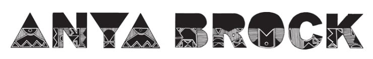 Anya Brock logo