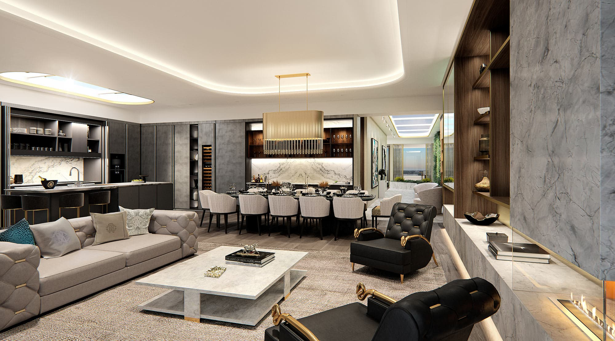 Branded Luxury Penthouse Sydney