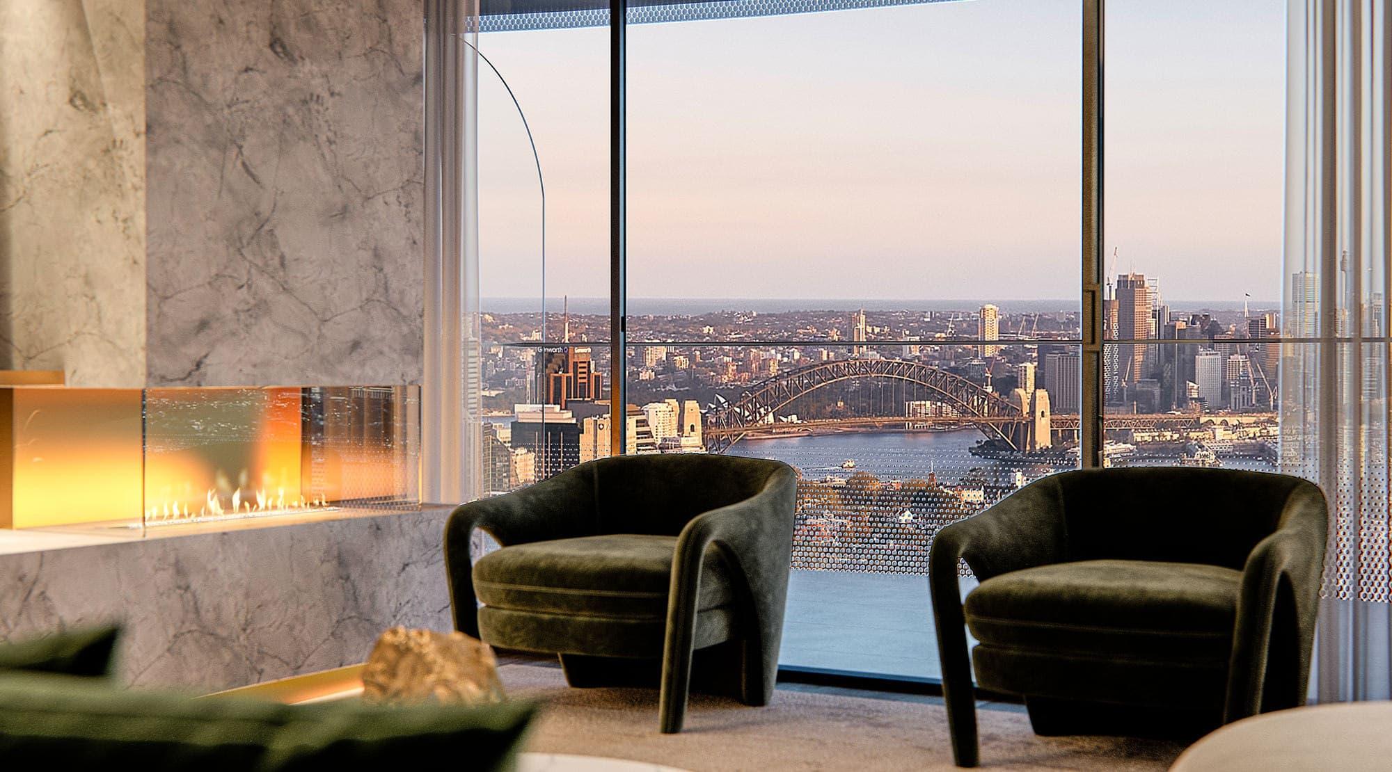Luxury Sydney Harbour View Penthouse