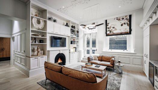 1886 Apartment Receives Luxury Refurb