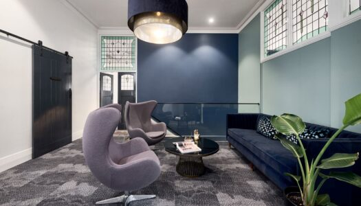 Heritage Listed Building Becomes a Stylish Modern Workspace