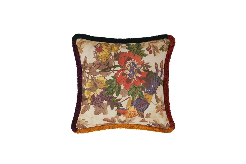 Etro home flower cushion